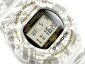 G-SHOCK Gショック ジーショック 限定 七福神モデル 寿老人モデル 逆輸入海外モデル CASIO カシオ デジタル 腕時計 ホワイト DW-5700SLG-7DR DW-5700SLG-7【あす楽】