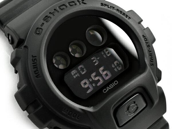 G-SHOCK Gショック ジーショック 限定 逆輸入海外モデル CASIO カシオ デジタル 腕時計 マット オールブラック DW-6900BBA-1DR DW-6900BBA-1【あす楽】