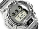 G-SHOCK Gショック ジーショック 限定モデル Clear Skeleton クリアスケルトン 逆輸入海外モデル カシオ CASIO デジタル 腕時計 スケルトン グレー DW-6900SK-1DR DW-6900SK-1【あす楽】