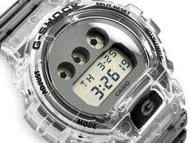 G-SHOCK Gショック ジーショック 限定モデル Clear Skeleton クリアスケルトン 逆輸入海外モデル カシオ CASIO デジタル 腕時計 スケルトン グレー DW-6900SK-1DR DW-6900SK-1