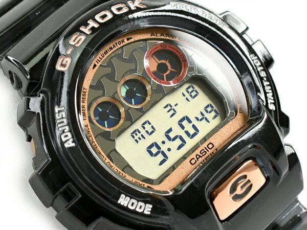 G-SHOCK Gショック ジーショック 限定 七福神モデル 毘沙門天モデル 逆輸入海外モデル CASIO カシオ デジタル 腕時計 スケルトン ダークグレー DW-6900SLG-1DR DW-6900SLG-1【あす楽】