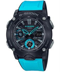 G-SHOCK Gショック ジーショック カシオ CASIO カーボンコアガード アナデジ 腕時計 ブラック スカイブルー GA-2000-1A2JF【国内正規モデル】【あす楽】