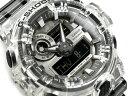 G-SHOCK Gショック ジーショック 逆輸入海外モデル 限定モデル クリアスケルトン CASIO カシオ アナデジ 腕時計 ブラ…