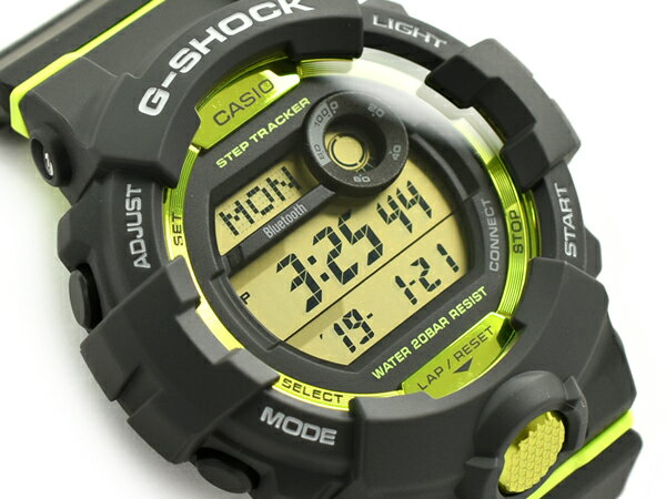 G-SHOCK Gショック ジーショック G-SQUAD ジースクワッド モバイルリンク機能 逆輸入海外モデル カシオ CASIO デジタル 腕時計 グレー グリーン GBD-800-8DR GBD-800-8【あす楽】