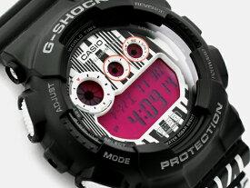[訳有り 外箱に破損有り]G-SHOCK Gショック ジーショック MAROK(マーロック) 限定モデル 逆輸入海外モデル カシオ CASIO デジタル 腕時計 ブラック ホワイト パープル GD-120LM-1ADR GD-120LM-1A【あす楽】