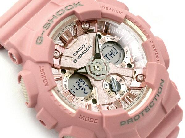 [予約商品 4/26日前後入荷予定]G-SHOCK Gショック ジーショック カシオ CASIO 限定モデル S Series Sシリーズ 逆輸入海外モデル アナデジ 腕時計 ライトピンク GMA-S120DP-4ADR GMA-S120DP-4A