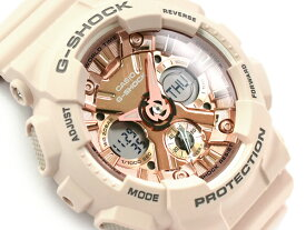 G-SHOCK Gショック カシオ 限定 Sシリーズ 逆輸入海外モデル アナデジ 腕時計 ピンクベージュ GMA-S120MF-4A