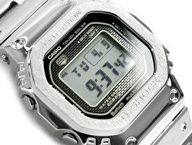 G-SHOCK Gショック ジーショック 35周年記念 限定モデル フルメタル 5000 日本製 逆輸入海外モデル カシオ CASIO スマートフォンリンク 電波ソーラー デジタル 腕時計 シルバー GMW-B5000D-1ER GMW-B5000D-1【あす楽】【ポイント3倍!!】