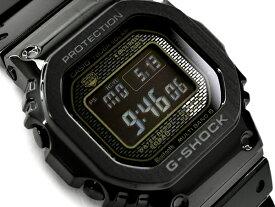 G-SHOCK Gショック ジーショック 35周年記念 限定モデル フルメタル 5000 日本製 逆輸入海外モデル カシオ CASIO スマートフォンリンク 電波ソーラー デジタル 腕時計 オールブラック GMW-B5000GD-1ER GMW-B5000GD-1
