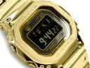 [予約商品 8月下旬入荷予定]G-SHOCK Gショック ジーショック 35周年記念 限定モデル フルメタル 5000 日本製 逆輸入海外モデル カシオ CASIO スマートフォンリンク 電波ソーラー デジタル 腕時計 ゴールド ブラック GMW-B5000GD-9ER GMW-B5000GD-9【ポイント3倍!!】
