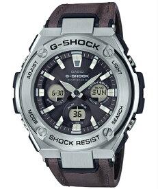 G-SHOCK Gショック ジーショック G-STEEL ジースチール カシオ CASIO 電波 ソーラー アナデジ 腕時計 ブラック シルバー ブラウン GST-W330L-1AJF【国内正規モデル】