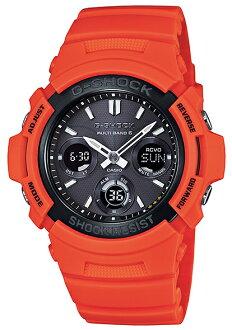 """G AWG-M100MR-4AJF g-休克""""凱西歐 gshock 凱西歐手錶"""