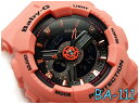 596ea646b3498 CASIO Baby-G Casio baby G-limited model reimportation foreign countries  モデルアナデジ watch black orange BA-111-4A2DR BA-111-4A2