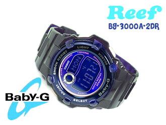 BG-3000A-2DR嬰兒G BABY-G嬰兒G卡西歐CASIO手錶