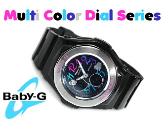 CASIO baby-g Casio baby G Multi Color Dial multi-color dial series an analog-digital watch black BGA-101-1B BGA-101-1BDR