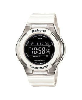 + Casio baby G watches Tripper Tripper Reef reef radio solar black white BGD-1300-7BJF