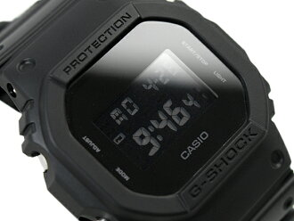 CASIO 카시오 G-SHOCK G 충격 시 충격 g-shock g 쇼크 Solid Colors ソリッドカラーズ 시계 올 블랙 DW-5600BB-1DR