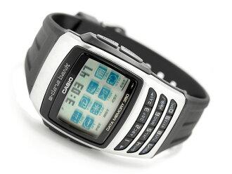 + Databank Unisex Watch Silver x black dial polyurethane belt EDB-610-1