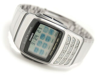 Databank Unisex Watch Silver Dial stainless steel belt EDB-610D-8