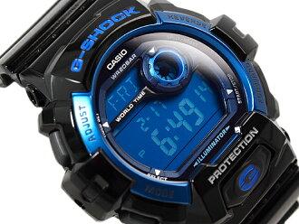 CASIO 카시오 G-SHOCK G 쇼크 스탠다드 모델 디지털 시계 블루 블랙 G-8900A-1DR