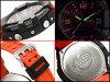 카시오 G 쇼크 스카이 조종석 CASIO G-SHOCK SKY COCKPIT 해외 역 수입 모델-디지털 시계 오렌지 블랙 GA-1000-4ADR