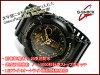 카시오 G 쇼크 역 수입 해외 모델 위장 전화 시리즈 전용 아날로그-디지털 시계 골드 블랙 GA-100CF-1A9CR GA-100CF-1A9DR GA-100CF-1A9