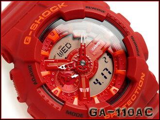 GA-110AC-4AJF 충격 G-SHOCK 지 쇼크 G gshock 카시오 CASIO 손목시계