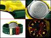 海外進口模型凱西歐 G 值衝擊養育養育類比數位手錶限量版黃色其他顏色遺傳演算法-110RF-9ADR
