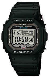 카시오 G쇼크 CASIO G-SHOCK 5600 손목시계 맨즈 Bluetooth 스마트 폰 통신 모델 블랙 디지털 GB-5600 B-1 JF