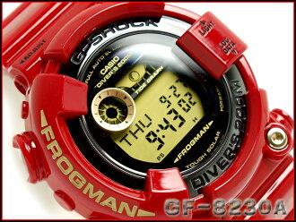 凱西歐 G 衝擊 30 周年紀念限量版模型上升紅 ライジングレッド 太陽能潛水蛙人觀看 GF-8230A-4JR