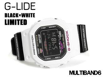 + G 休克 6600 g 衝擊凱西歐 G 立德凱西歐 G 騎有限公司無線電模型太陽能數碼觀看黑色 / 白色 GWX-5600B-7