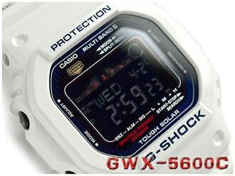 카시오 G쇼크 G-LIDE G놀이 기구 해외 역수입 모델 솔러 전파 디지털 맨즈 손목시계 화이트×블루 GWX-5600 C-7 DR fs3gm