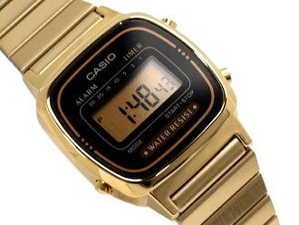 카시오 스탠다드 모델 디지털 레이디스 손목시계 역수입 해외 모델 블랙 골드 LA-670 WGA-1 DF fs3gm