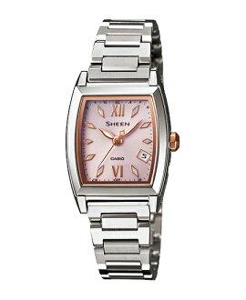 Casio scene Lady's watch electric wave solar pink silver SHW-1503D-4AJF