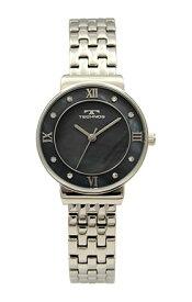 【テクノス】【TECHNOS】【送料無料】【訳あり:A】【アウトレット】【正規品】【腕時計】TECHNOS/テクノス T6890SB オールステンレス 腕時計 レディース ブラック