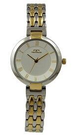 【テクノス】【TECHNOS】【送料無料】【訳あり:A】【アウトレット】【正規品】【腕時計】TECHNOS/テクノス T6898TS オールステンレス 腕時計 レディース シルバー×ゴールド/ツインベルト