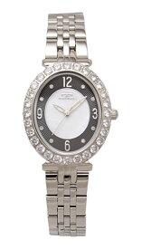 【テクノス】【TECHNOS】【送料無料】【訳あり:A】【アウトレット】【正規品】【腕時計】TECHNOS/テクノス T6916SB オールステンレス 腕時計 レディース ブラック ホワイト