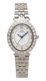 【テクノス】【TECHNOS】【送料無料】【訳あり:A】【アウトレット】【正規品】【腕時計】TECHNOS/テクノス T6916SW オールステンレス 腕時計 レディース ホワイト