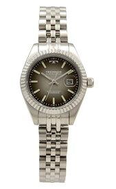 【テクノス】【TECHNOS】【送料無料】【訳あり:A】【アウトレット】【正規品】【腕時計】TECHNOS/テクノス T9888SE オールステンレス 三針 カレンダー 腕時計 レディース ガンメタル