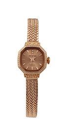 【テクノス】【TECHNOS】【送料無料】【訳あり:A】【アウトレット】【正規品】【腕時計】TECHNOS/テクノス T9894PP オールステンレス 腕時計 レディース ピンクゴールド×ピンクゴールド