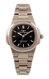 【テクノス】【TECHNOS】【送料無料】【訳あり:A】【アウトレット】【正規品】【腕時計】TECHNOS/テクノス T9902SB オールステンレス 腕時計 レディース ブラック