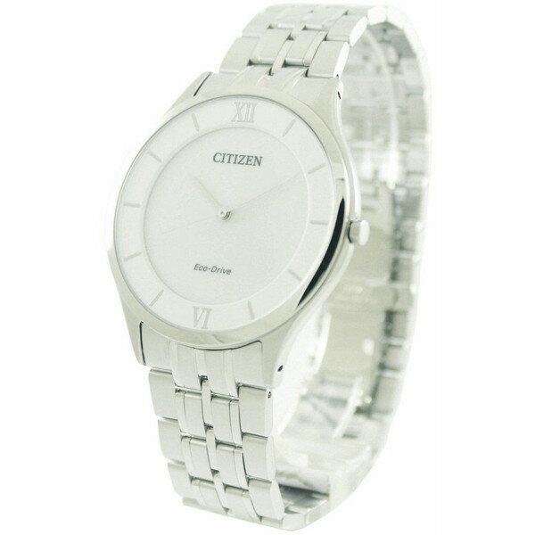 [シチズン]CITIZEN 腕時計 ECO-DRIVE STILLETO SUPER THIN ステレット エコドライブ AR0071-59A メンズ [並行輸入]