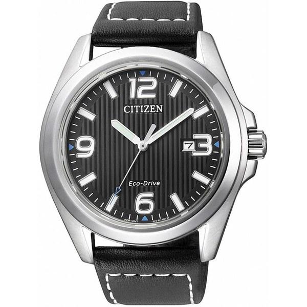[シチズン]CITIZEN 腕時計 ECO-DRIVE BLACK DIAL エコドライブ ブラックダイアル AW1430-19E メンズ [並行輸入]