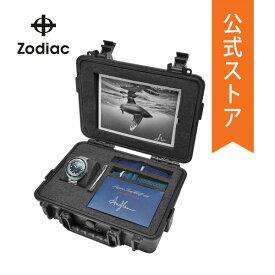 2020 春の新作 ゾディアック 腕時計 メンズ 自動巻き ストラップ セット Zodiac 時計 スーパー シーウルフ ZO9508 Super Sea Wolf 68 公式 2年 保証