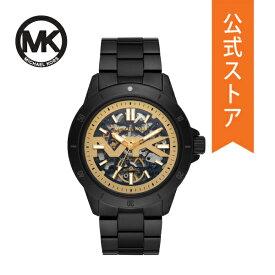 【30%OFF】マイケルコース 腕時計 自動巻き メンズ MICHAEL KORS 時計 MK9043 BAYVILLE 公式 2年 保証