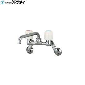 カクダイ[KAKUDAI]キッチン用水栓2ハンドル混合栓1240S-170[一般地仕様]【送料無料】