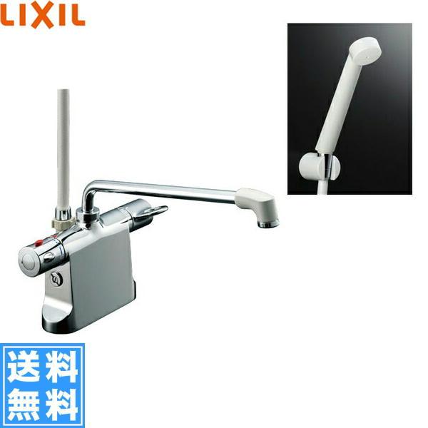 [BF-B646TSD(300)-A120]リクシル[LIXIL/INAX]シャワーバス水栓[サーモスタット・デッキタイプ][ビーフィットシリーズ][一般地仕様]【送料無料】