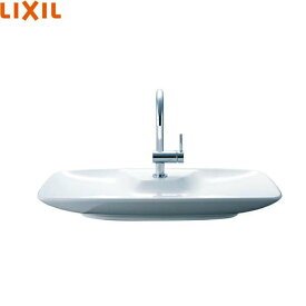 [YL-AR57SH(C)V/BW1]リクシル[LIXIL/INAX]ワイド手洗器(ベッセル式)[床給水/壁排水(ボトルトラップ)][アクアセラミック][送料無料]