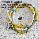 WATER x 39 (SunKu/サンク) Necklace & Bracelet / ネックレス&ブレスレット 10P03Dec16
