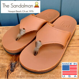 "THE SANDALMAN (サンダルマン) x WATER ""BEACHWIDE Latigo Leather""/ ビーチワイド ラティーゴレザー"